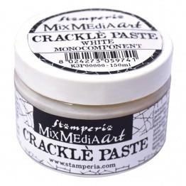 Crackle pastes